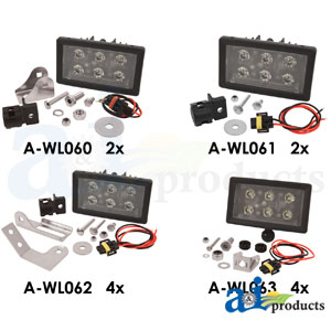 A-WL8000KT: 12 Light LED Light Kit