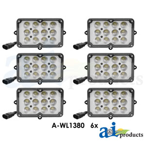 A-WL9000KT: 6 Light LED Light Kit